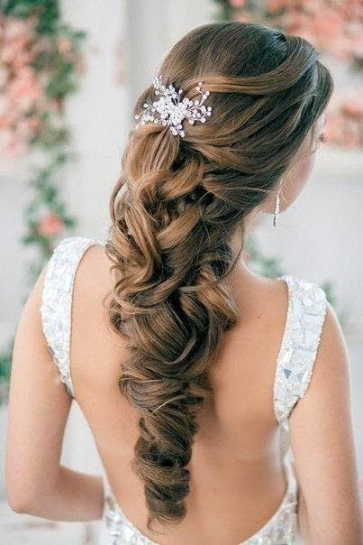 Wedding Hairstyles Curly Hair Half Up