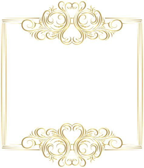 Pin by Blanka Dolinar on PNG   Gold photo frames, Frame