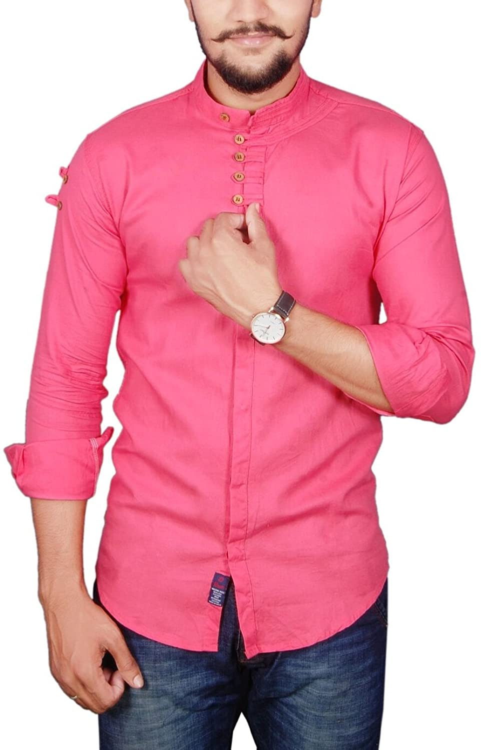 Deals on Vero Lie Men's Casual Shirt