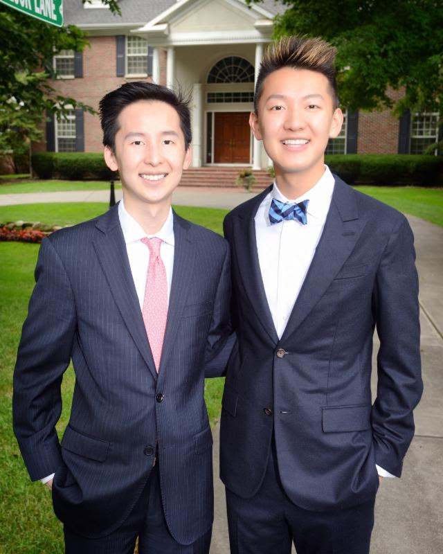Mitchell (left) & Alex Zhang
