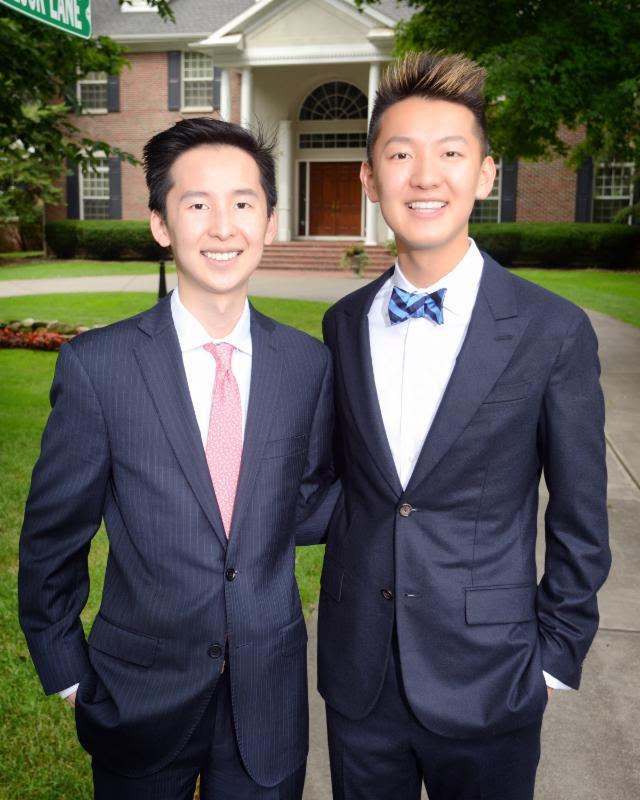 Mitchell (left) & Alex Zhang