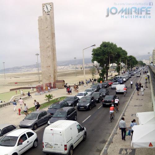 Avenida do Relógio de Praia na Figueira da Foz