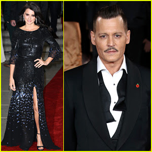 Johnny Depp, Penélope Cruz, e 'Orient Express' Cast Atender World Premiere em Londres!