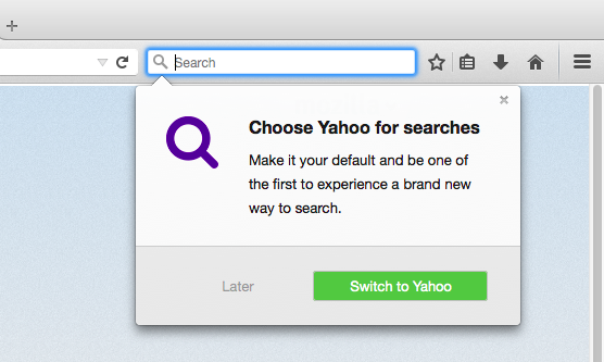 Screen Shot 2014 12 01 at 11.07.02 AM Mozilla releases Firefox 34, marking switch to Yahoo as default search engine