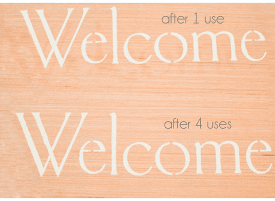 Reusable Stencils for Painting Wood Signs: Silhouette
