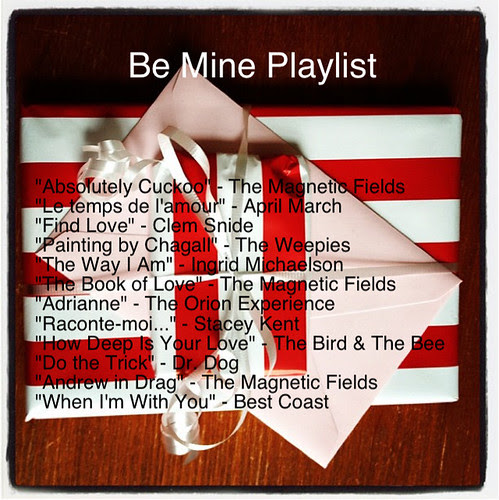 Be Mine Playlist