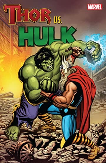 Marvel Comics Hulk Vs Thor