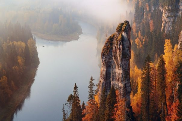 Пермский край, река Усьва, Россия: невероятная красота
