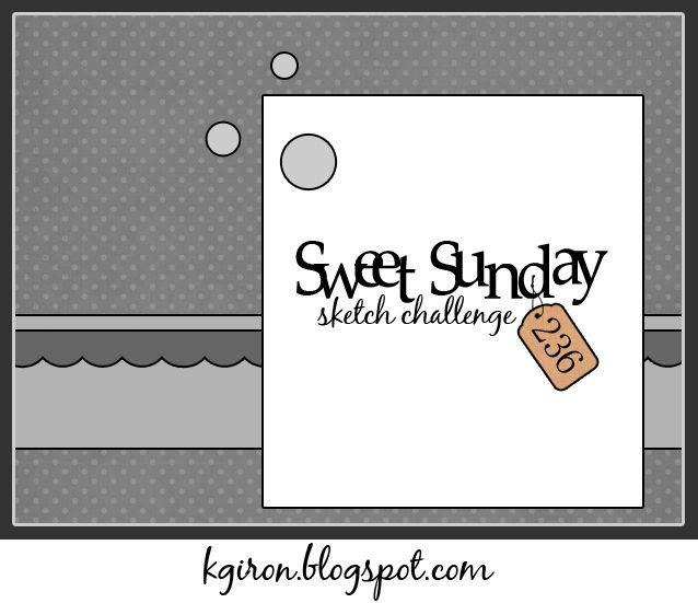 the sweetest thing...: Sweet Sunday Sketch Challenge 236