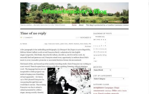 Minniebeaniste's Blog