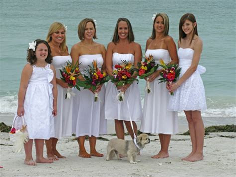 Cheap Beach Wedding Attire   Florida Beach Wedding   Cheap