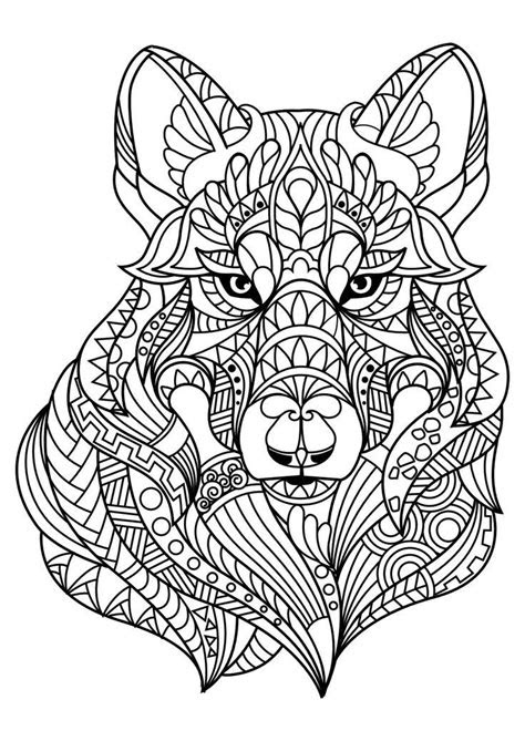 animal coloring pages  adult coloring book animals
