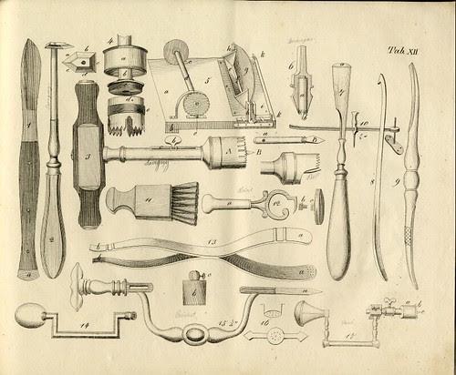 vintage craniotomy equipment