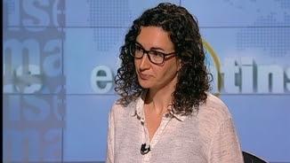 """La número 2 d'Esquerra Republicana, Marta Rovira, """"Els matins"""" de TV3"""