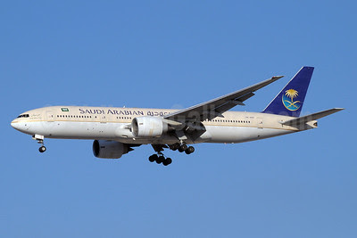 Saudi Arabian Airlines Boeing 777-268 ER HZ-AKP (msn 28359) DXB (Paul Denton). Image: 912220.