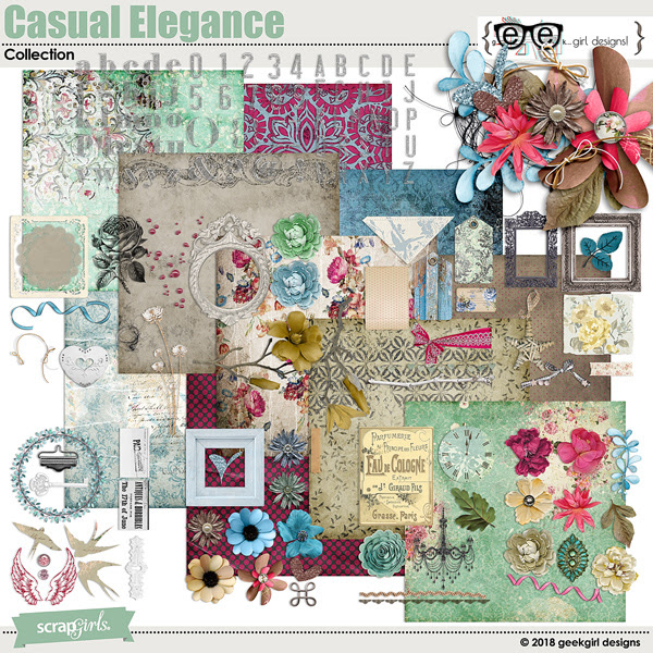 geekgirl designs Casual Elegance Collection