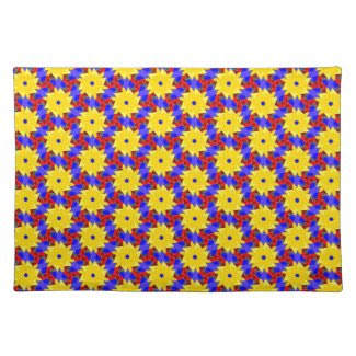 Exciting Pinwheel-like Placemats for the Home