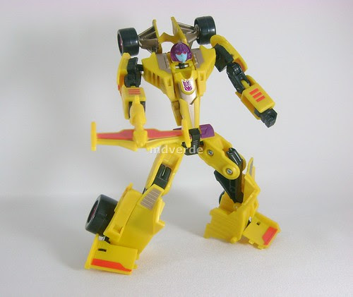 Transformers Dragstrip Classic Universe Special Edition - modo robot