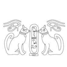 Egyptian Coloring Pages Coloringnori Coloring Pages For Kids