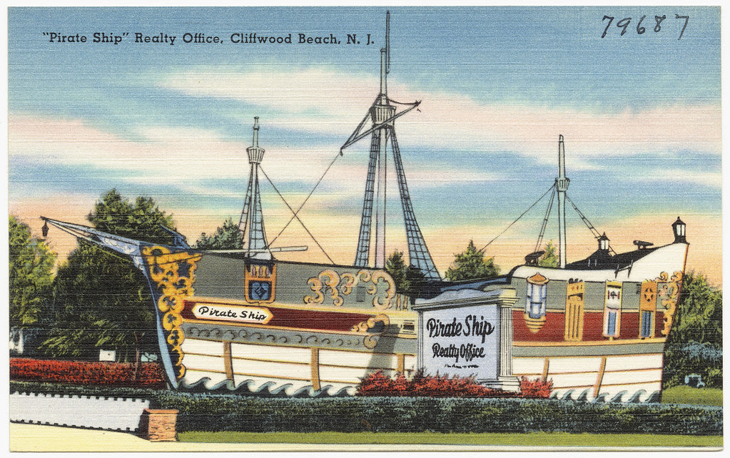 Pirate Ship Realty Office Cliffwood Beach N J Flickr