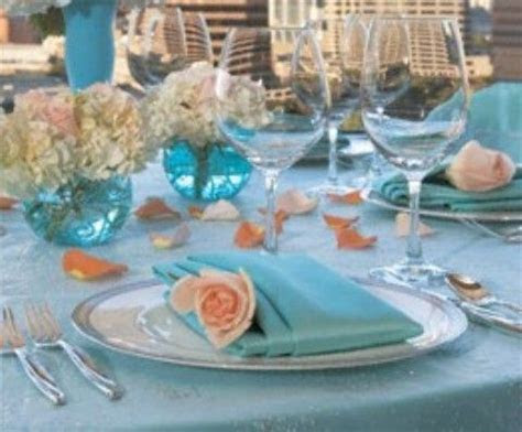 tiffany blue and light pink wedding theme   Tiffany blue