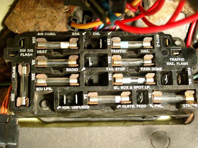 Fuse Panel Diagram The 1947 Present Chevrolet Gmc Truck Message Board Network