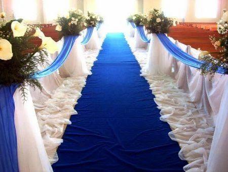 Decorations - Blue White Wedding Theme Decoration Service Provider ...