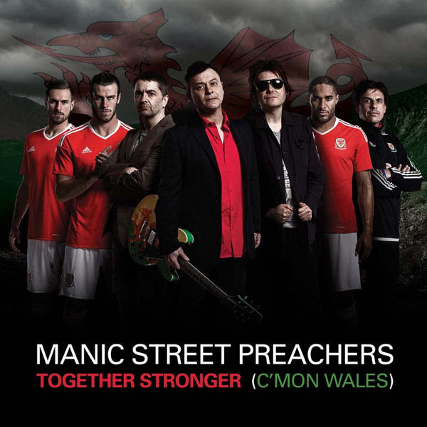 Image result for manic street preachers come on wales