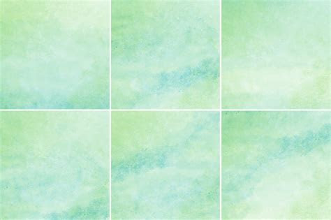 Green & Blue Watercolor Backgrounds ~ Textures on Creative