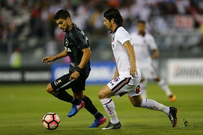 Colo-Colo Botafogo Libertadores Rodrigo Pimpão (Foto: Reuters)