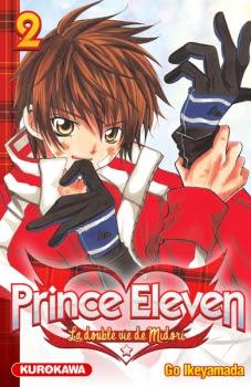 Couverture Prince Eleven - La double vie de Midori, tome 02