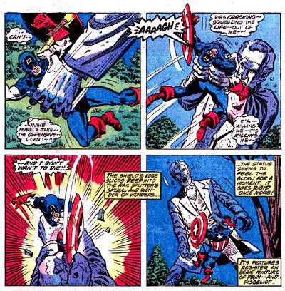 Captain America #222