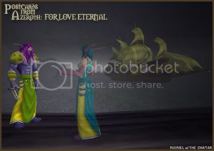 Postcards of Azeroth: For Love Eternal, by Rioriel Ail'thera