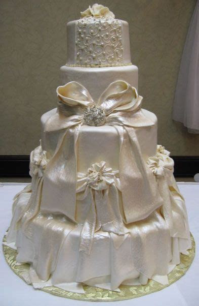 Quinceanera Cakes Pillars Wedding Cake 01 Rsvp Cards For