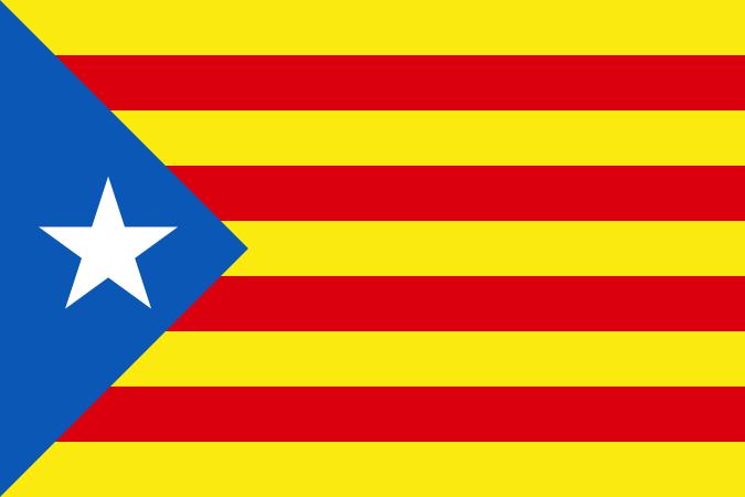 Risultati immagini per bandiera della catalogna