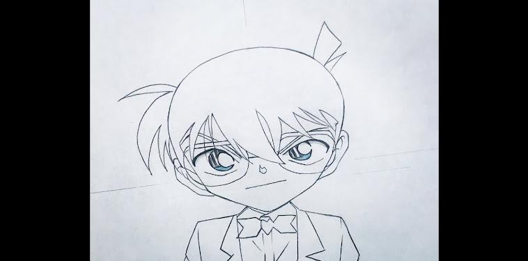 Detective Conan Drawing Easy