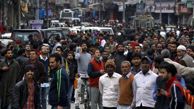 Personas en las calles