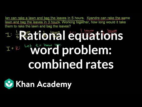 Applications Of Rational Equations Intermediate Algebra