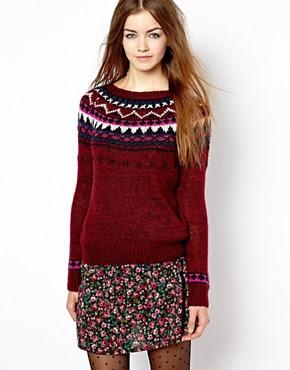 Bild 1 von New Look – Pullover mit Norwegermuster
