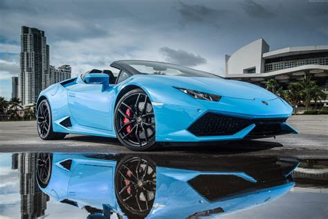 Wallpaper Lamborghini Huracan, LP610 4 Spyder, Lamborghini, 4K, Automotive / Cars, #983