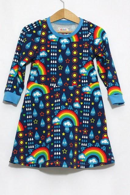 Rainbowphant skater dress