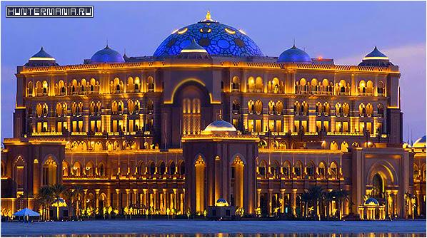 Золотой автомат Дворца Эмиратов