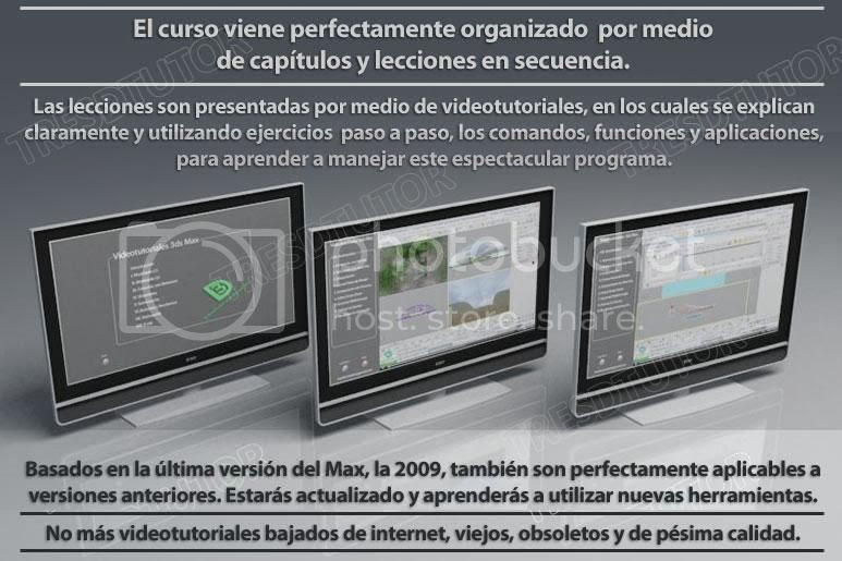 curso 3d studio max paso a paso video tutoriales programa