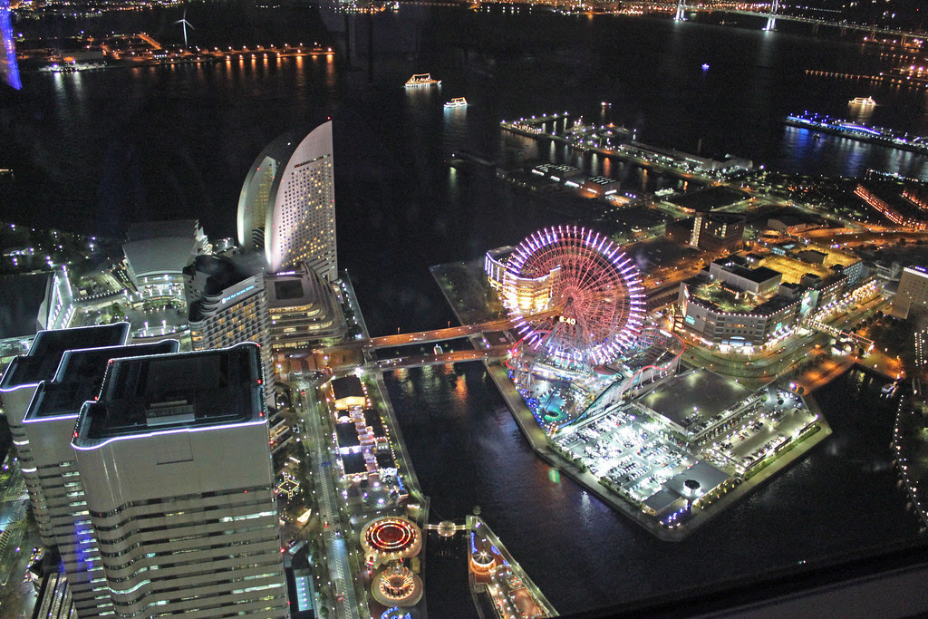 Desde lo alto. Yokohama