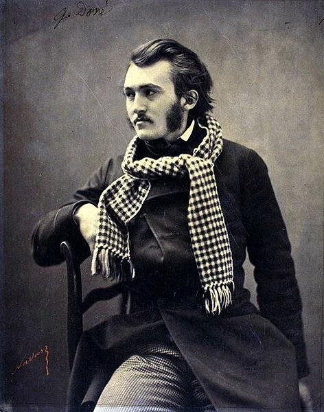 Gustave Dore Portraits de gens célèbres par Felix Nadar