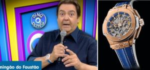 2 300x140 - Relógio do Faustão: o maior colecionador do Relógios do Brasil!