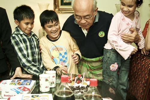 Papa's Birthday 2009