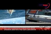 KLM. Cahaya Musdalifah Ditabrak Kapal Besar Tak Dikenal di Perairan Jeneponto