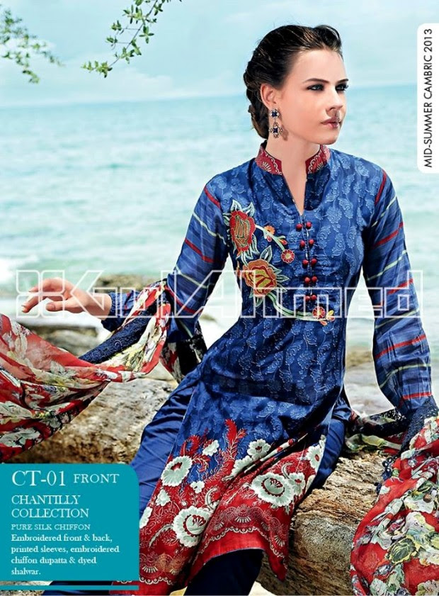 Mid-Summer-Cambric-Collection-2013-Gul-Ahmed-Printed-Embroidered-Fashionable-Dress-for-Girls-Women-22