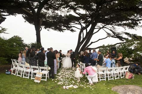 Wedding at Lover's Point in Pacific Grove on the Monterey
